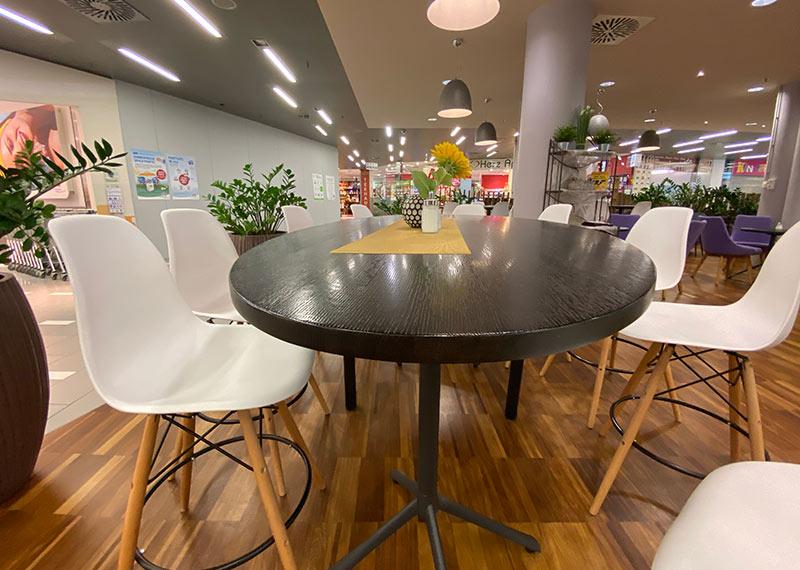 Gastronomieeinrichtung im ZIP Salzburg