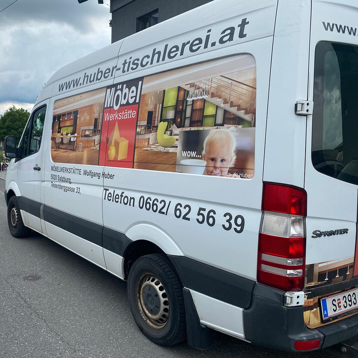 servicewagen tischlerei huber
